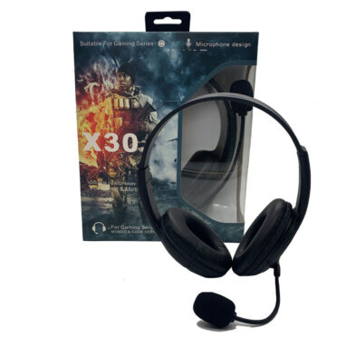 אוזניות גיימינג X30 1