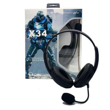 אוזניות גיימינג X34