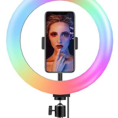 טבעת תאורה צבעונית RGB LED 1