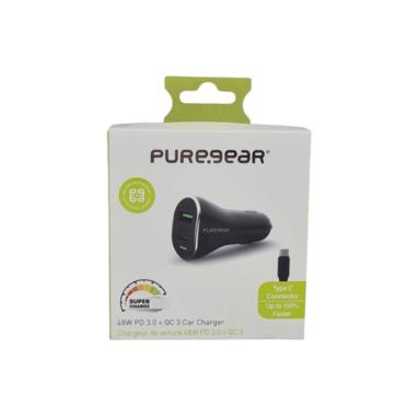 מטען רכב מהיר Type-C של PureGear