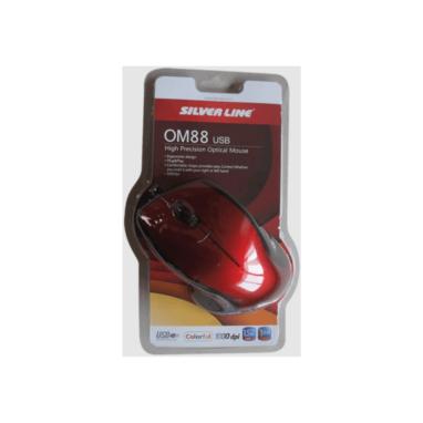 עכבר חוטי למחשב SilverLine OM88
