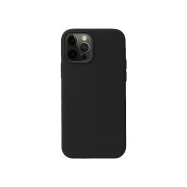 iPhone 12 Pro Max Silicone Case Black