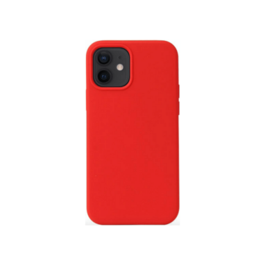 iPhone 12 Silicone Case Red