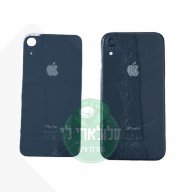 החלפת גב זכוכית אחורי למכשיר iPhone XR