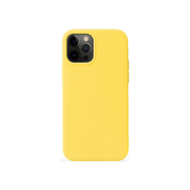 iPhone Xs Max Silicone Case Yellow