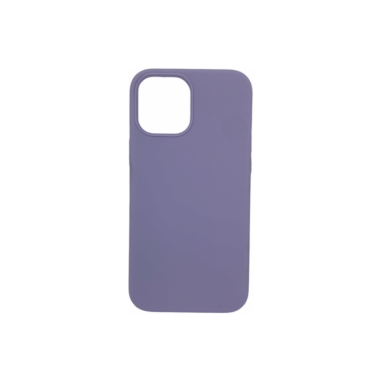 iPhone Xs Silicone Case Purple